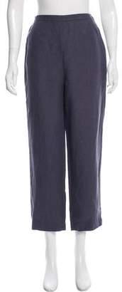 Jaeger Linen High-Rise Pants