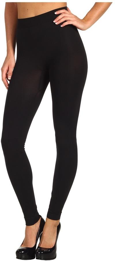 Wolford Velvet 100 Leg Support Leggings (Black) - Apparel