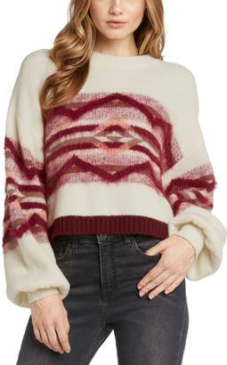 Willow & Clay Geo Knit Sweater