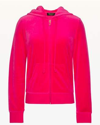 Juicy Couture Crystal Starburst Velour Robertson Jacket
