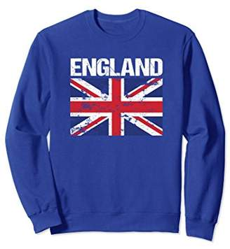 Union Jack Flag England United Kingdom UK British Sweatshirt