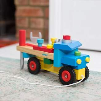 Harmony at Home Children's Eco Boutique Personalised Diy Wooden Truck And Tool Kit