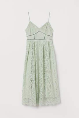 H&M Lace Dress - Green