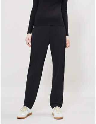 7bca1fdf957 Joseph Electra Comfort high-rise boyfriend-fit wool-blend trousers