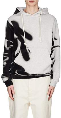 Maison Margiela Men's Flocked Cotton Hoodie