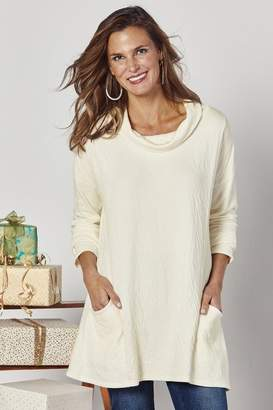Soft Surroundings Pocket Full of Cozy Tunic