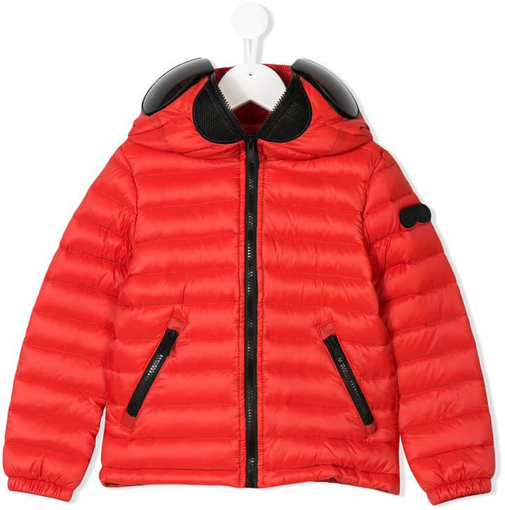 Ai Riders On The Storm Kids zipped padded jacket