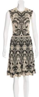 Alexander McQueen Patterned Knee-Length Dress
