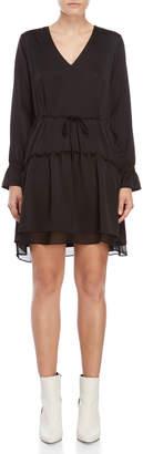 Norr Black Vilde Hi-Low Dress