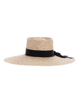 Zimmermann Flat Crown Straw Hat