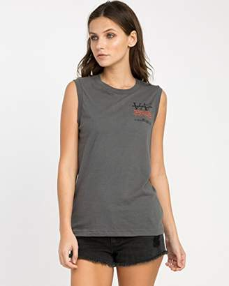 RVCA Junior's Displacement Sleeveless Tee