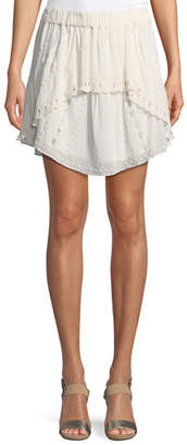 IRO Pabey A-Line Short Skirt