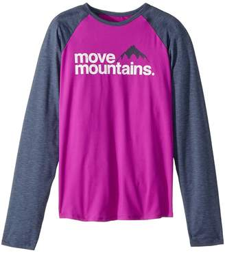 Columbia Kids Outdoor Elementstm Long Sleeve Shirt Girl's Long Sleeve Pullover