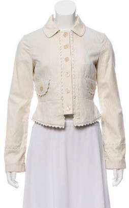 Marc Jacobs Scalloped Fitted Jacket