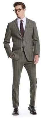 Todd Snyder Black Label Made in USA Black Label Glen Plaid Wool Suit Jacket