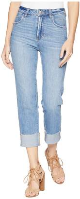 Paige High-Rise Sarah w/ Special Seaming Details + Raw Cuff in Mesa Women's Jeans
