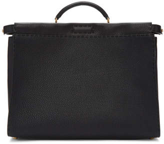 Black Bag Bugs Peekaboo Regular Briefcase