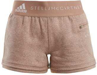 adidas by Stella McCartney Essentials cotton-blend shorts