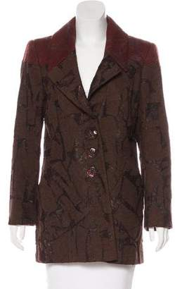 Christian Lacroix Wool-Blend Short Coat