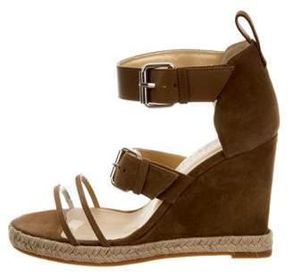 Ritch Erani NYFC Suede Espadrille Wedge Sandals w/ Tags