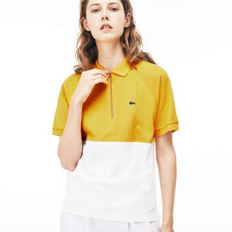 Lacoste (ラコステ) - スリムフィット カラーブロック ポロシャツ (半袖)