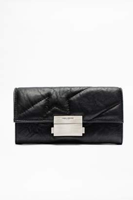 Zadig & Voltaire Zadig Voltaire Compact Large Square Wallet