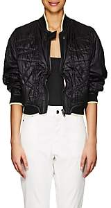 Haider Ackermann Women's Topstitched Bomber Jacket - Black
