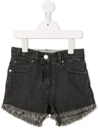 Stella McCartney high waist denim shorts