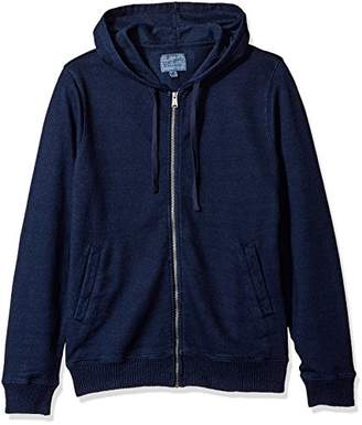 Lucky Brand Men's Aztec Graphic Full Zip Hooded Sweatshirt