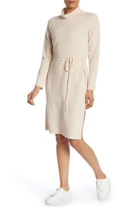 Vince Wool Blend Sweater Dress