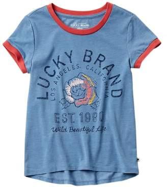 Lucky Brand Easton Tee (Big Girls)