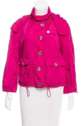 Burberry Hooded Lightweight Jacket