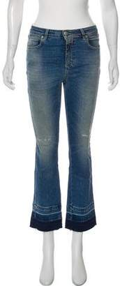 Closed Mid-Rise Straight-Leg Jeans