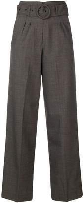 LES COYOTES DE PARIS belted tailored trousers