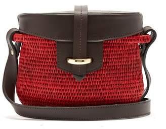 Khokho - Jabu Mini Basket Bag - Womens - Red Multi