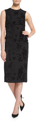 Ralph Lauren Collection Sleeveless Brocade Sheath Dress, Black $2,990 thestylecure.com