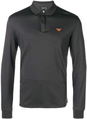 Emporio Armani long-sleeved polo shirt