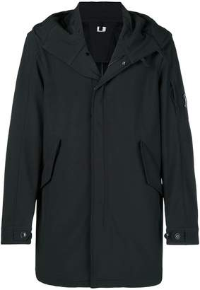 C.P. Company zipped hooded coat