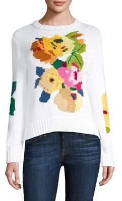 Smythe Floral Crewneck Sweater
