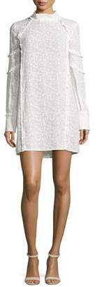 Iro Mijo Textured Tunic Dress, White $310 thestylecure.com