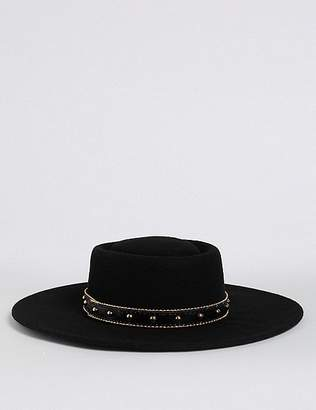 Marks and Spencer Pure Wool Fedora Hats