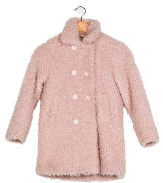 Rykiel Enfant Girls' Faux Fur Coat