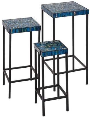 IMAX Worldwide Home Mosaic Tables, 3-Piece Set