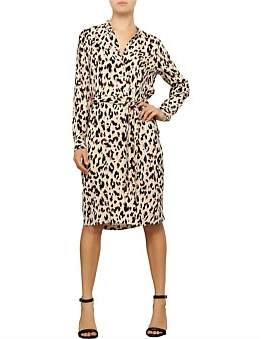 David Jones Animal Print Dress