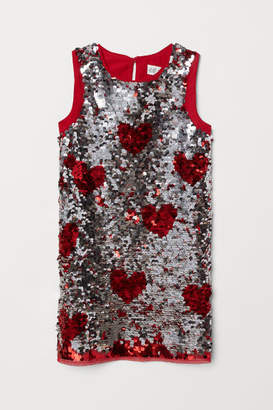 H&M Sequined dress