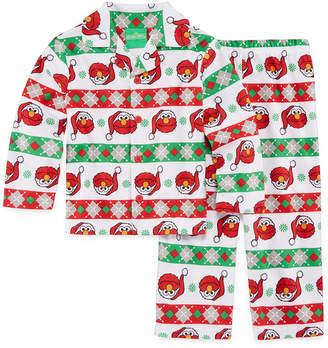 Sesame Street SESAME ELMO Sesame Elmo 2-pack Pajama Set Boys