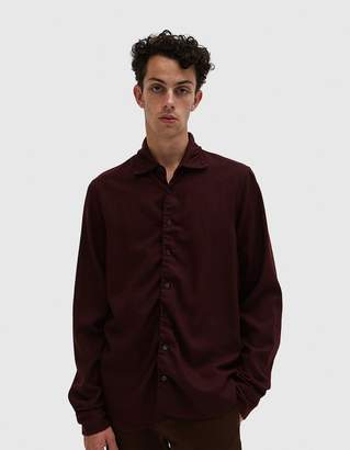 Marni L/S Sport Shirt in Bordeaux