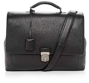 Salvatore Ferragamo Firenze Leather Briefcase