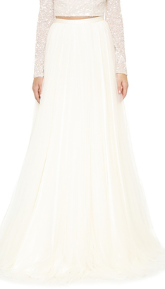 Theia Tilly Spanish Tulle Skirt $995 thestylecure.com