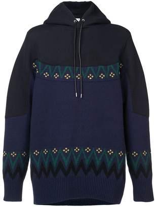 Sacai longline hoodie